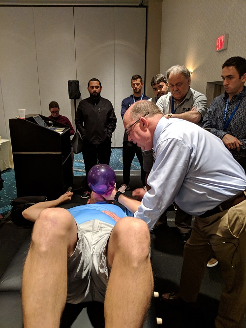 Ron Hruska instructing a PRI non-manual technique at the ACA Rehab Council