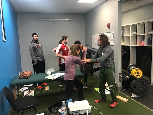 Demostration during Myokinematic Restoration in Milwaukee, WI