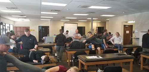 Lab Demonstration, Myokinematic Restoration course, Chandler, AZ