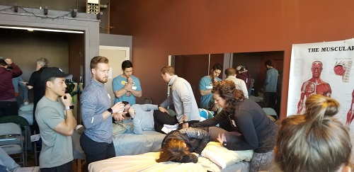 Myokinematic Restoration course lab session in Seattle